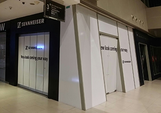 BoxFresh Service - Graphics Installation - Hoarding