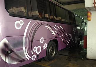 BoxFresh Service - Spray Paintings - Private Bus